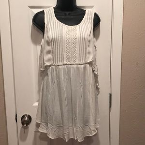 White Mur baby doll top